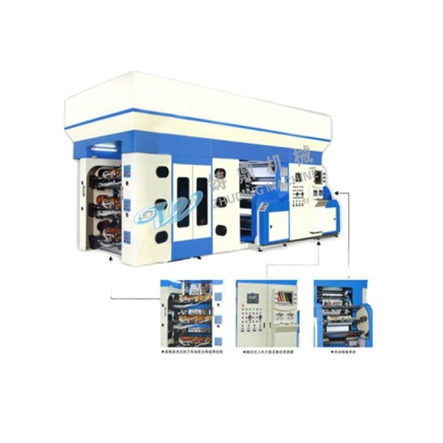 Zhuding high speed automatic blade multicolor flexographic printing machine