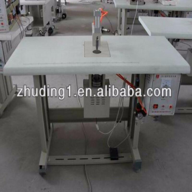 Ultrasonic non-woven bag welding machine
