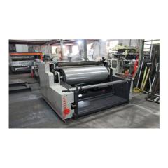 PP woven fabric bag automatic both side match bopp lamination machine