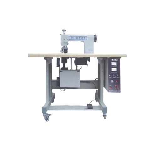 Zhuding ultrasonic nonwoven clothes sewing lace machine with thread