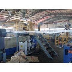 Full-automatic spunbond meltblown cloth making production line