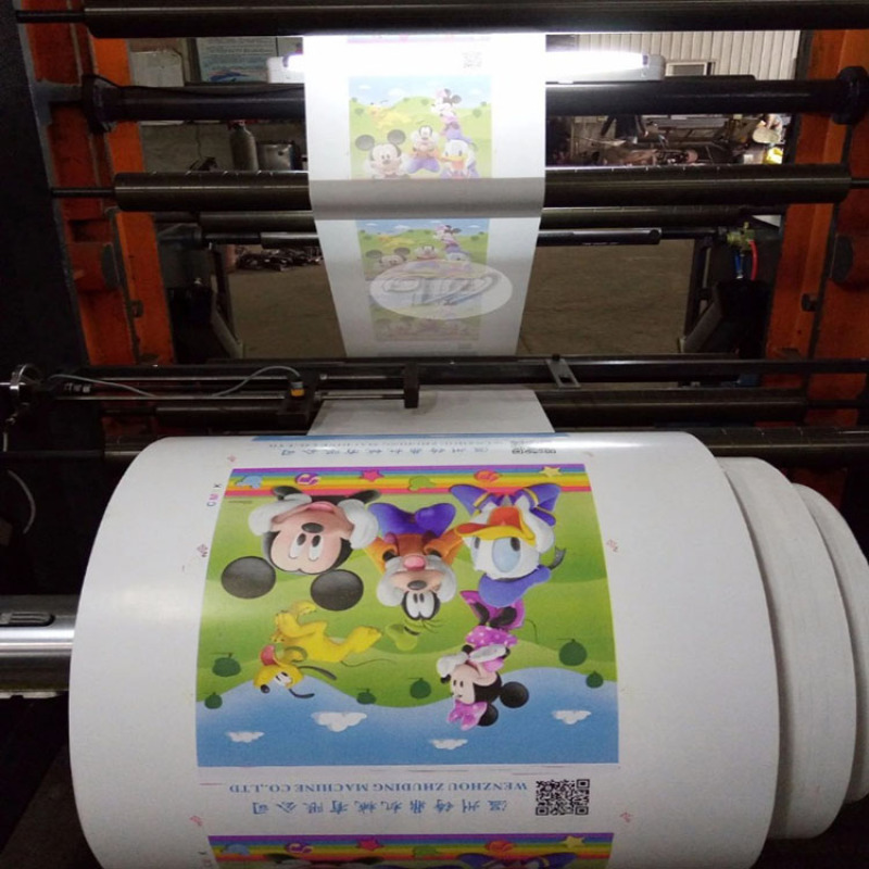 Simple Logo Printing Machine on PP Woven Bag