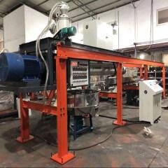 Automatic nonwoven fabric extrusion paper lamination machine