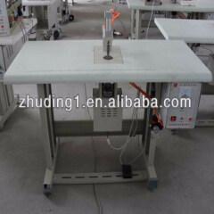 Sealing manual non-woven bag ultrasonic welding machine