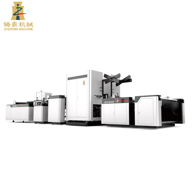 AUTOMATIC PP WOVEN BAG CUTTING AND SEWING MACHINE