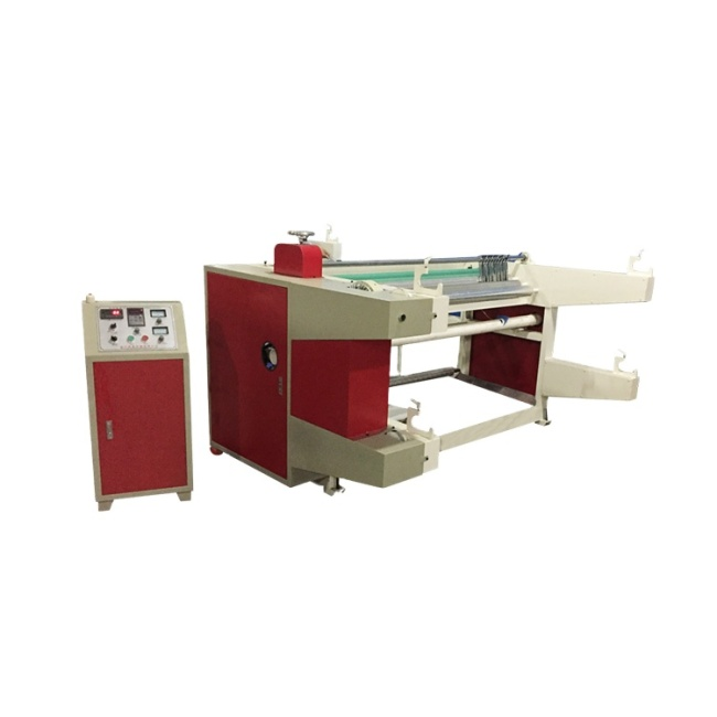 Automatic high quality small volume slitting rewinding machine