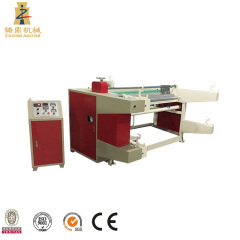 Fully automatic rewinder for fabric materials