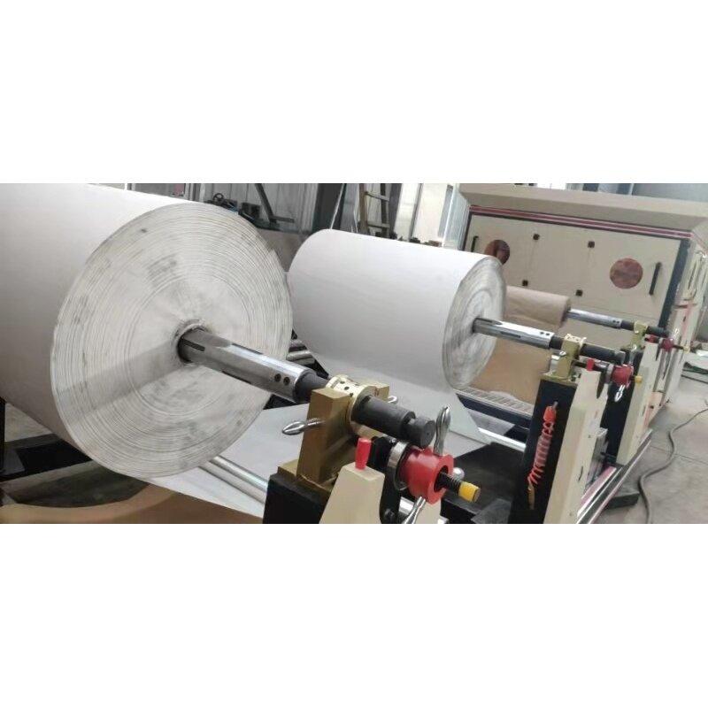 25kgs 50kgs Square Bottom Paper Cement Packing Bag Making machine