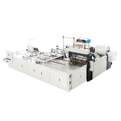 Full automatic pp woven bag inner liner bag inserting machine