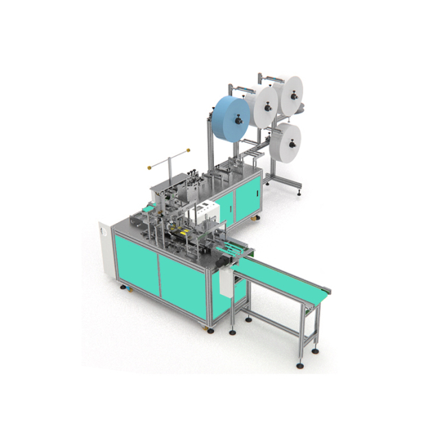 Automatic hygienic medical surgical earloop mask making machine