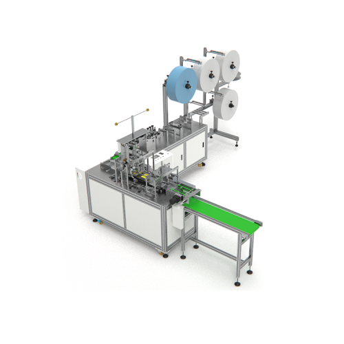 High productivity face mask medical disposable making machine