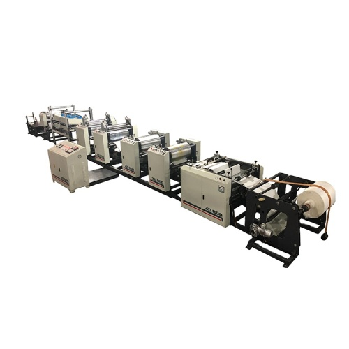 Patented product servo control pp woven bag four color flexo printing machine