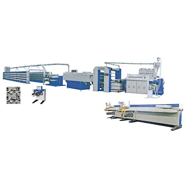 High Speed PP/PE Woven Rice Bag Plastic Flat Yarn Extruding Line Machine