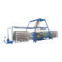 China pp woven big bag making 8 shuttle circular loom machine