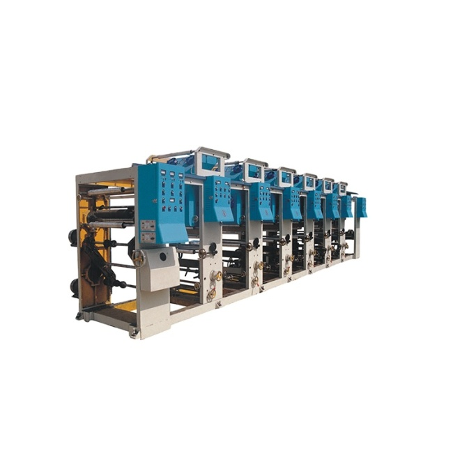 ZHUDING computer control woven sack 1-6 colors gravure printing machine