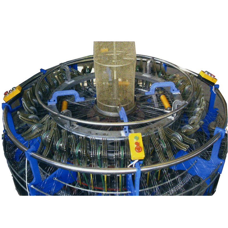 Zhuding Four shuttle circular loom mesh bag making machine