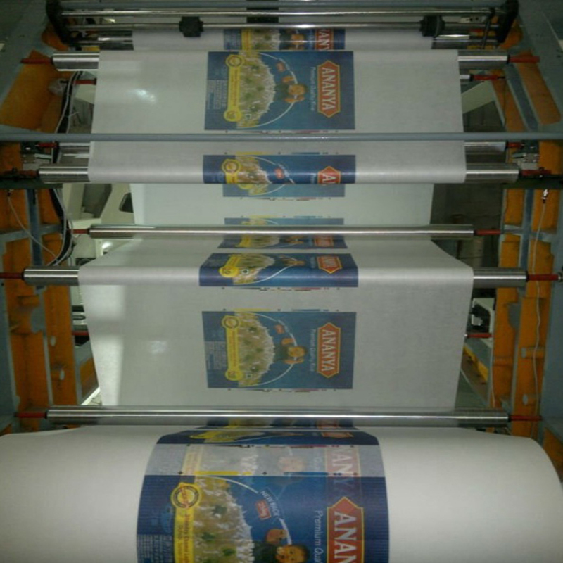 Patented product high speed rice pp woven bag flexografic printing machine