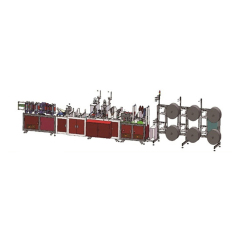High speed production equipment n95 mask making machine