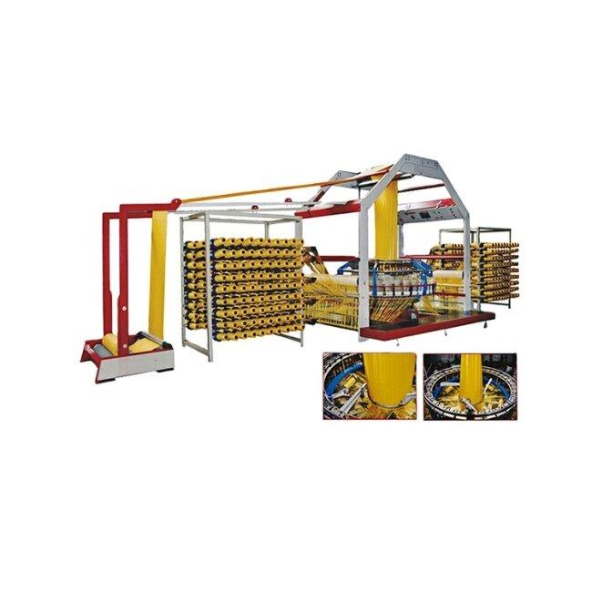 Energy saving PP woven bag 6 shuttle plane cam circular loom machine