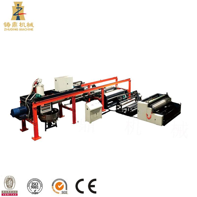 Cheap paper nonwoven fabric pp woven fabric coating lamination machine