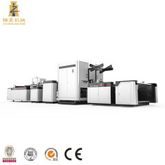 High speed automatic MESH bag cutting and sewing machine