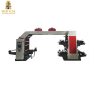 High speed PLC control 8 colors flexographic printing machine