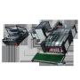 Zhuding automatic pp woven jumbo bag cutting and sawing machine