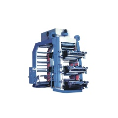 2 4 6 8 color paper bag pp woven bag flexographic printing machine
