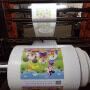 Computer gravure printing machine
