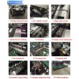 Zhuding fully automatic PP woven cement bag cutting sewing machine