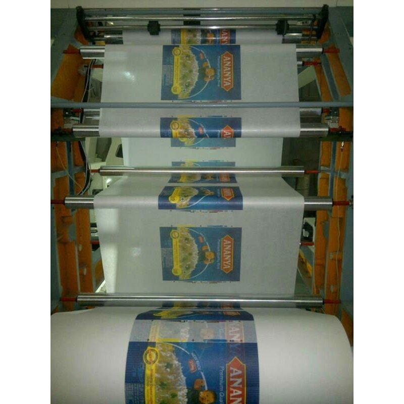 Printing PP / PE plastic bag letterpress