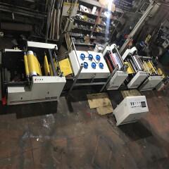 Zhuding servo control pp woven bag four color flexografic printing machine