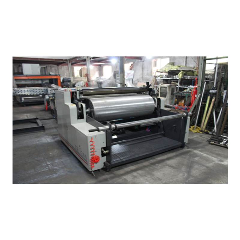 Automatic thermal paper non woven fabric foil laminating machine