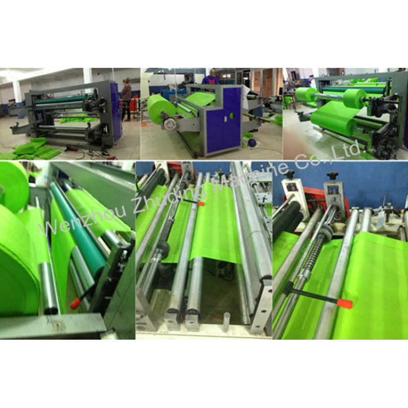 Hot selling non woven fabric rolls slitting and rewinding machine