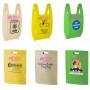 Non woven shopping vest bag T-shirt bag making machine