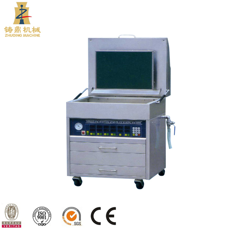 Zhuding high quality automatic photopolymer plate maker