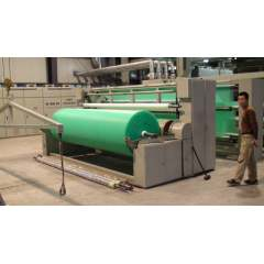 Full automatic pp spunbond meltblown nonwoven fabric making line