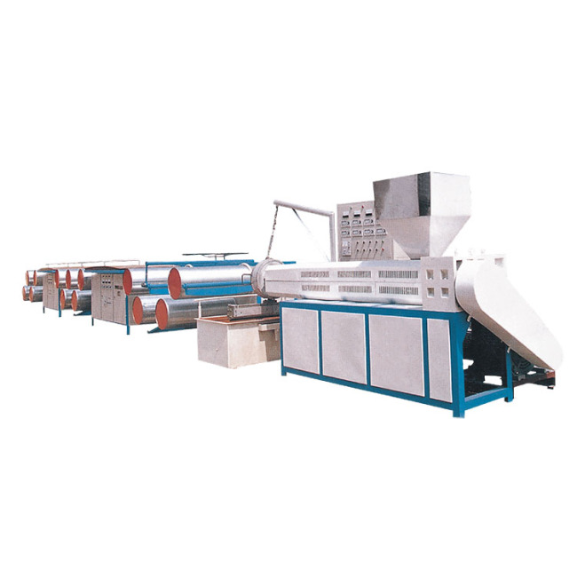 High speed microcomputer control PP plastic flat yarn extrusion line