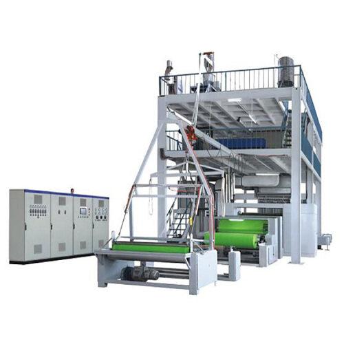 Automatic high speed meltblown nonwoven spunbond fabric making machine