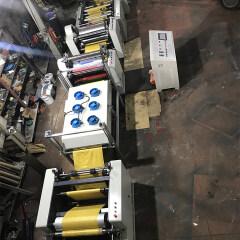 Auto non woven bag pp woven bag servo 4 color flexographic printing machine