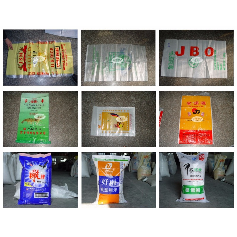 laminated woven sacks poly woven cement woven bag production line