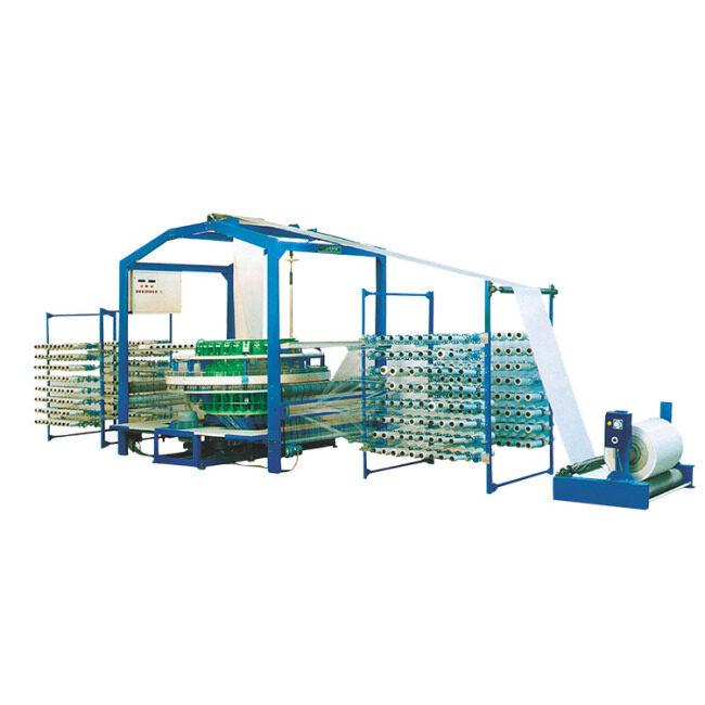 High productivity four shuttles circular loom flour bag production line