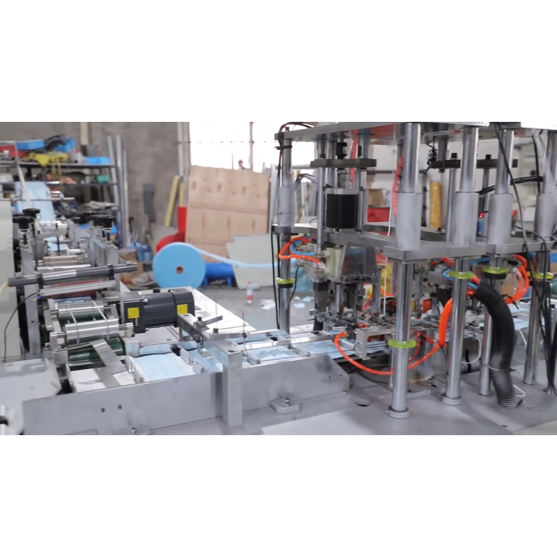 Custom ultrasonic non woven fabric face mask sheet making machine