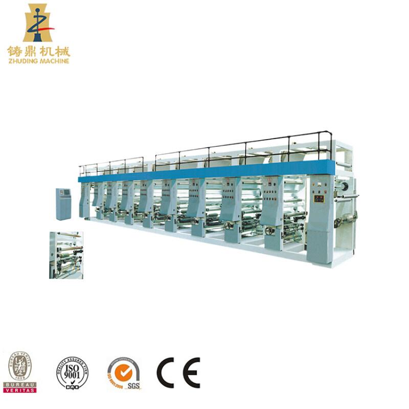 small gravure printing machine