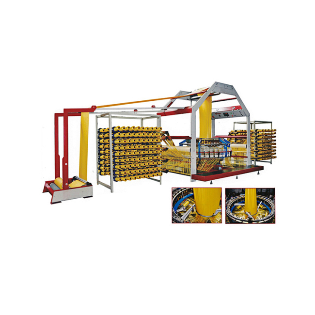 Polypropylene woven mesh bag production line machinery 6 shuttle circular loom