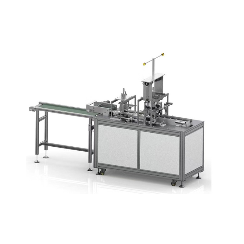 High speed hospital inner earlop mask machine for surgical face mask making