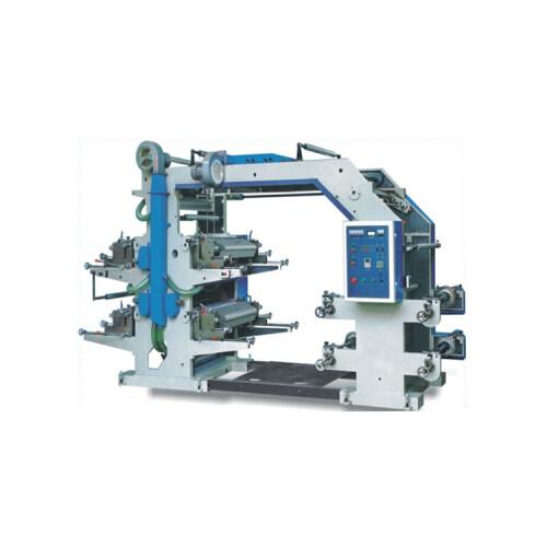 Automatic paper film PP woven bag 4 color flexo printing machine