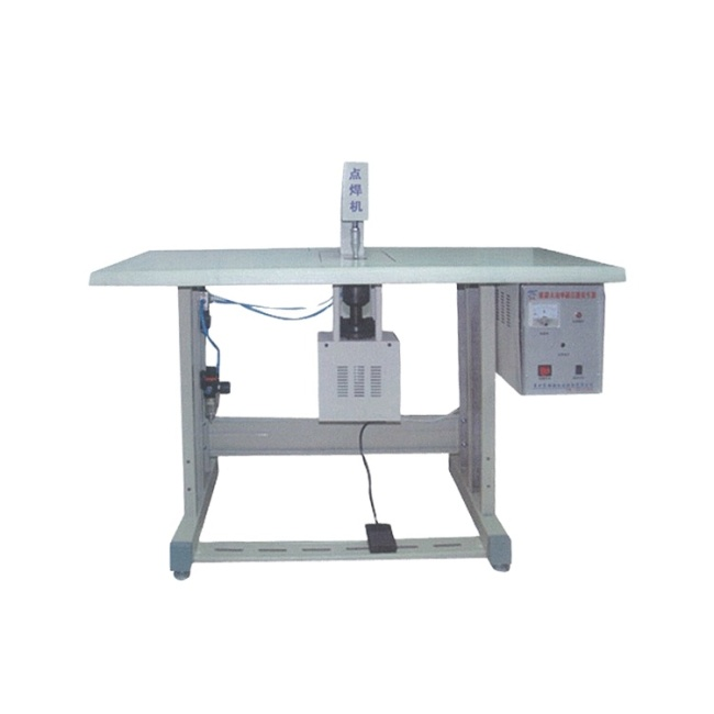 Ultrasonic sealing non woven bag manual welding making machine