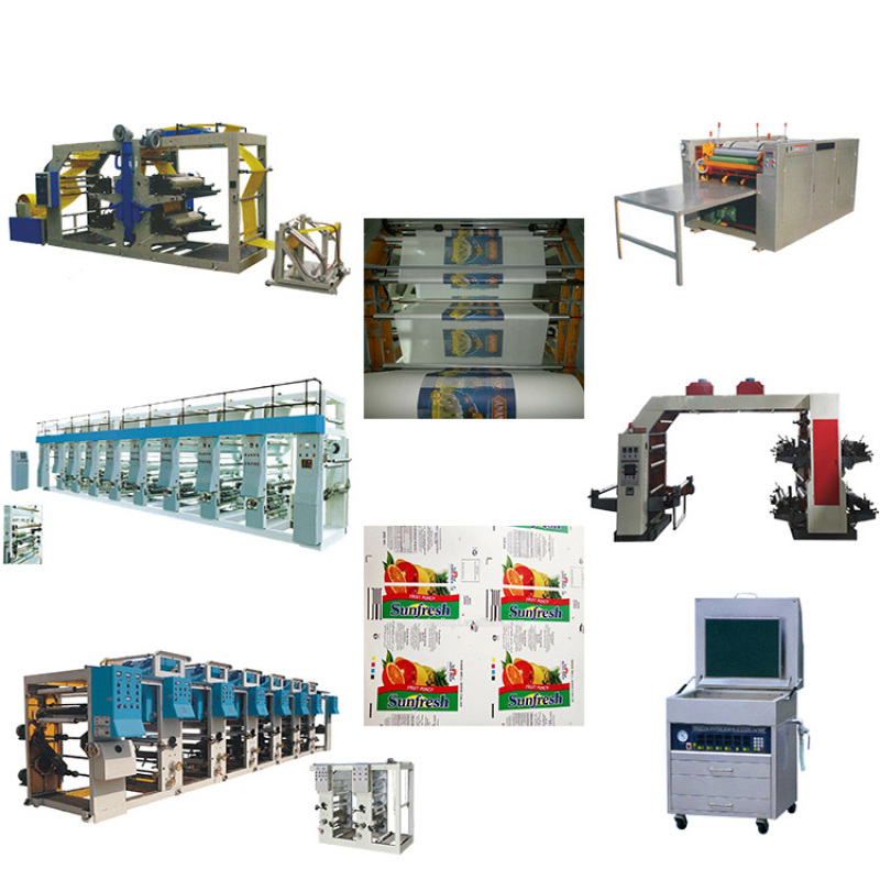 flexo printing machinery for label