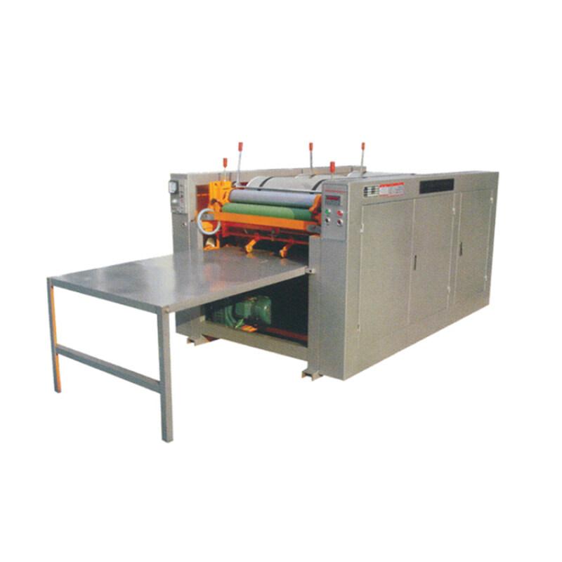 Piece to piece jute bag non woven bag printing machinery